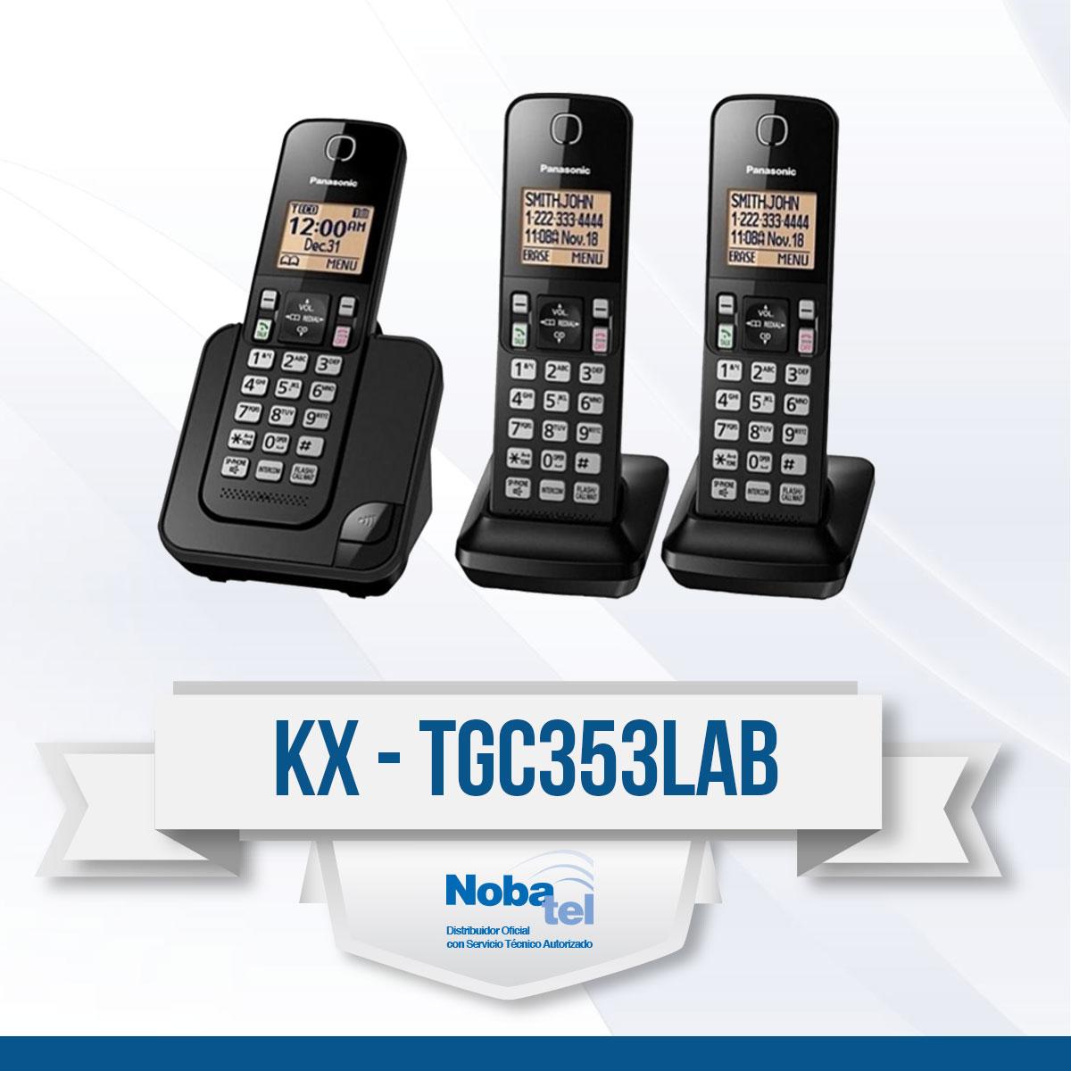 KX-TGC353LAB